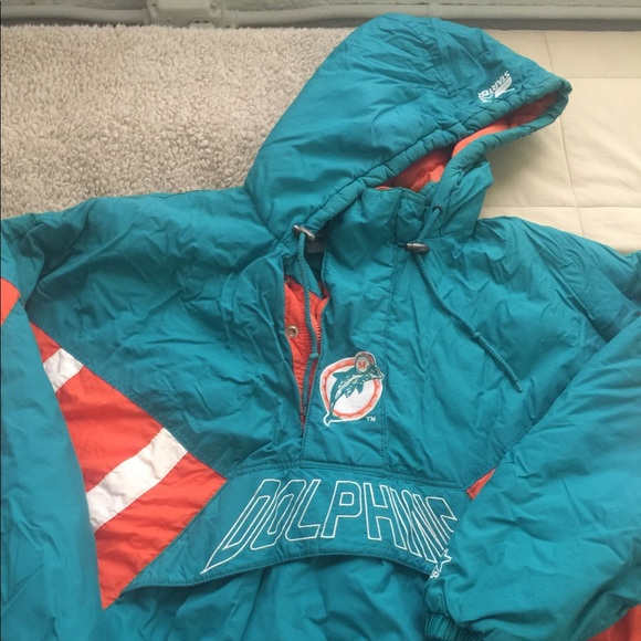 the best attitude 18c3c 0f855 Winter Dolphin jacket original NFL vintage